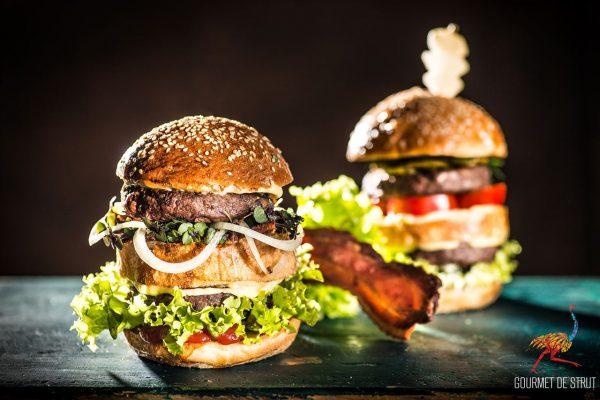 0000223 burger din carne de strut