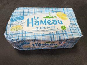 Unt Gourmet (82%) LE HAMEAU BRIOIS din lapte vaca 500gr