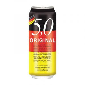 5 0 original craft beer CAN