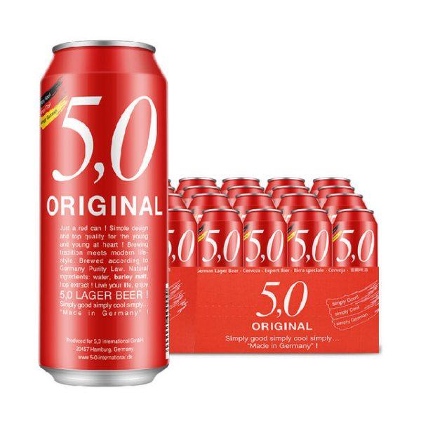 5 0 original lager