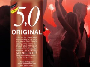 Bere 5,0 ORIGINAL LAGER 500ml x 24