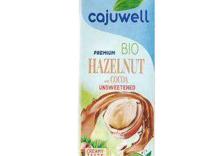 Bautura din Alune de padure si Cacao Bio neindulcita 1L Cajuwell