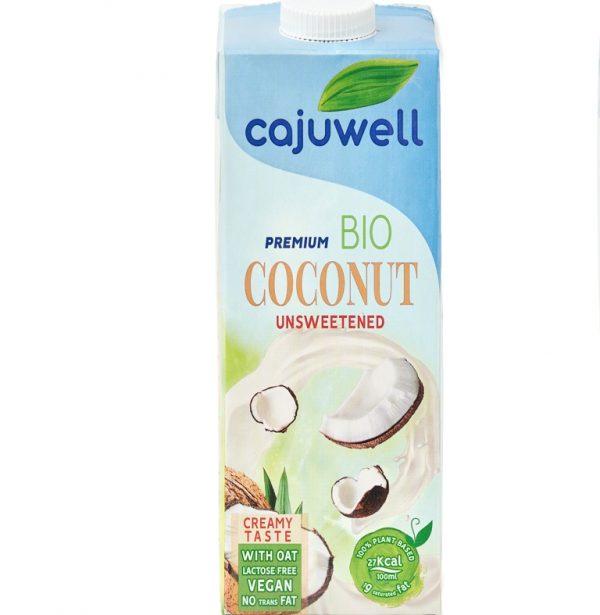 Bautura din Cocos si Ovaz Bio neindulcit 1L Cajuwell