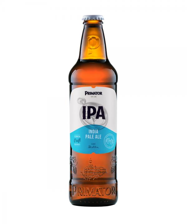 "Bere PRIMATOR IPA ""Indian Pale Ale"" Cehia 500ml"