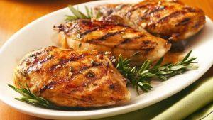 Chicken breast with skin 3