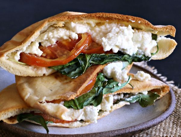 Feta cheese sandwich 1