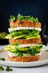 Feta cheese sandwich 9