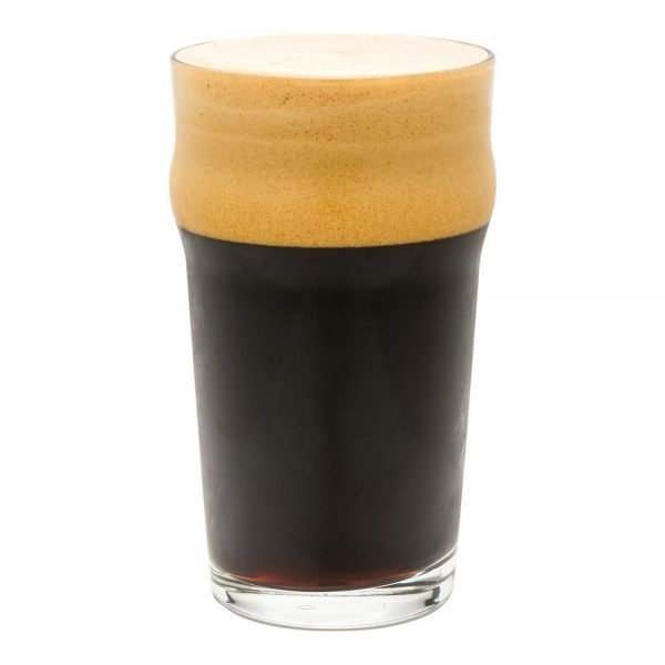 Irish Stout beer glass 3