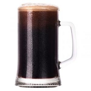 Irish Stout beer glass 4