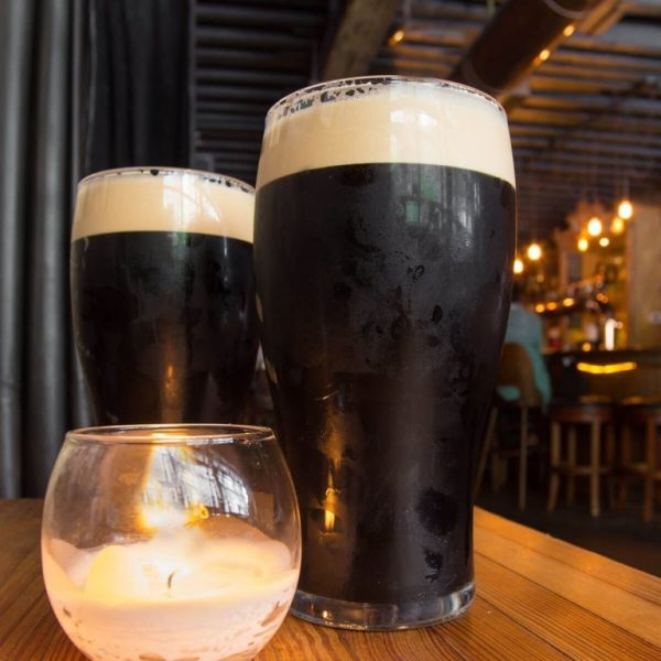 Irish Stout beer glass 5