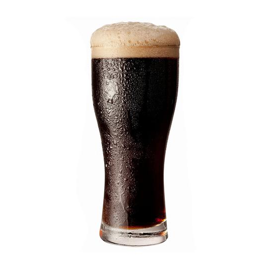Irish Stout beer glass 6