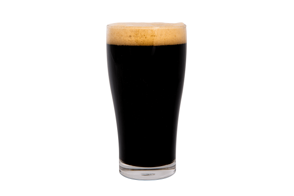 Irish Stout beer glass 8