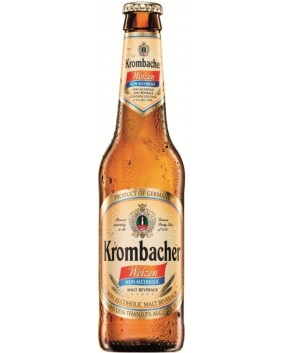 Bere KROMBACHER  WEIZEN 0% ALCOOL nepasteurizata 0.5L x 12