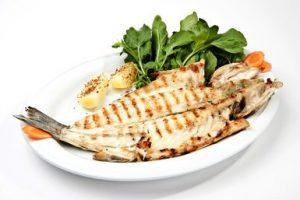 Levrek cooked open 3