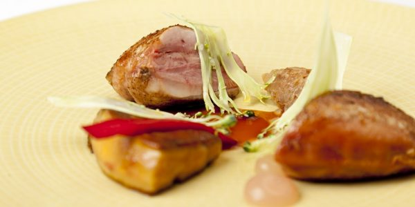 Quail breast with skin 1