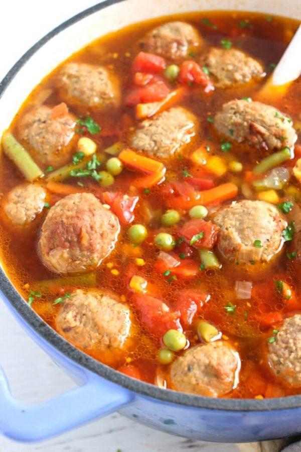 Quail meatballs 8