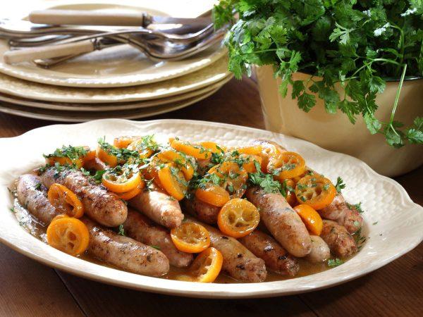 Quail sausages 1