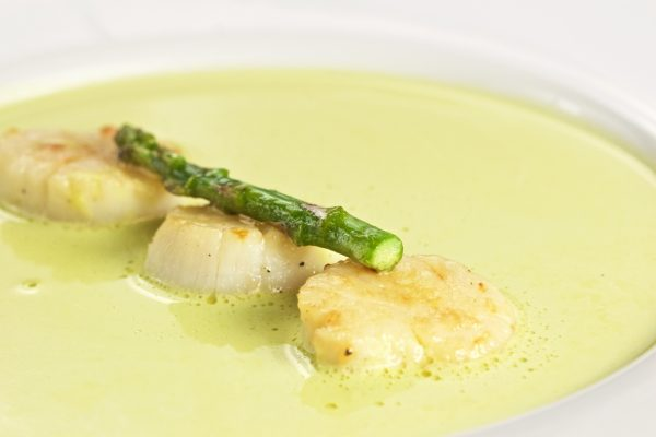 Scallops cooked soup SUPER 16