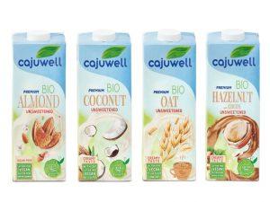 Set 4 bauturi Bio vegane neindulcite Cajuwell