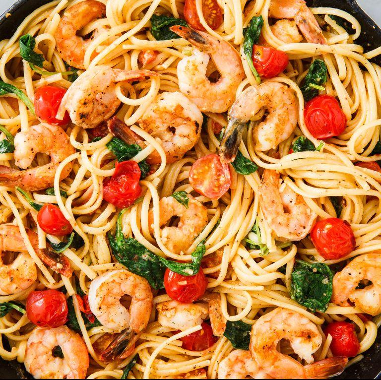 Shrimp pasta 9
