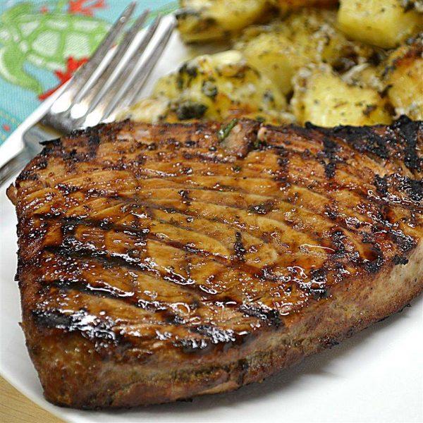 Steak de Ton la gratar