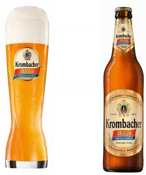 krombacher weizen non alcoholic bier 1