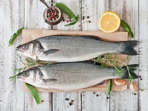 Pește LUP de MARE (LEVREK sau SEA BASS) intreg eviscerat