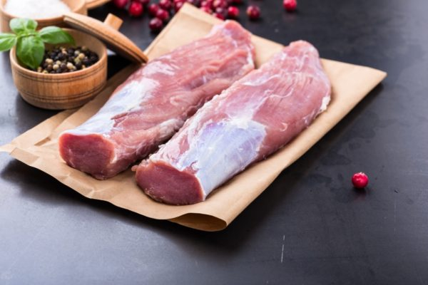 Muschiulet de Porc crud