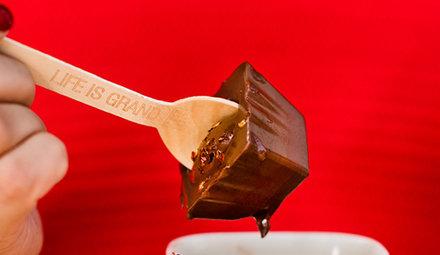 Ciocolata calda pe lingurita 72 Cacao foto produs 5