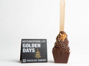 Ciocolata calda pe lingurita bradut Golden Days