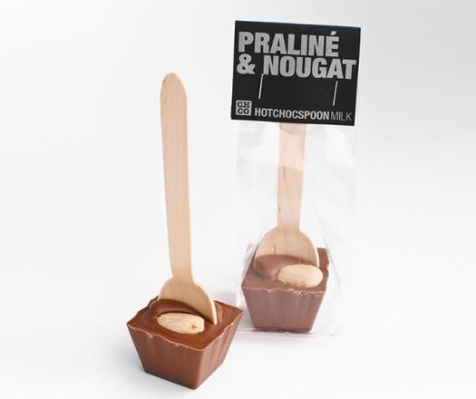 Ciocolata calda pe lingurita Praline Nougat 2