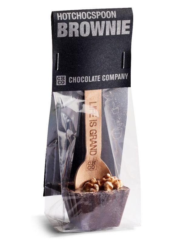 Ciocolata calda pe lingurita aroma Brownie foto produs 2